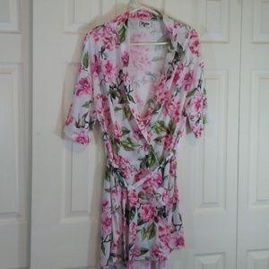 Show Me Your MuMu Floral Robe